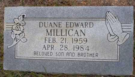 MILLICAN, DUANE EDWARD - Ouachita County, Arkansas | DUANE EDWARD MILLICAN - Arkansas Gravestone Photos