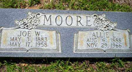 MOORE, JOE W - Ouachita County, Arkansas | JOE W MOORE - Arkansas Gravestone Photos