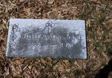 MOORE, WILLIE SAXON - Ouachita County, Arkansas | WILLIE SAXON MOORE - Arkansas Gravestone Photos