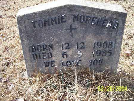 MOREHEAD, TOMMIE - Ouachita County, Arkansas   TOMMIE MOREHEAD - Arkansas Gravestone Photos