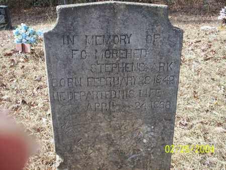 MOREHED, F.C. - Ouachita County, Arkansas | F.C. MOREHED - Arkansas Gravestone Photos