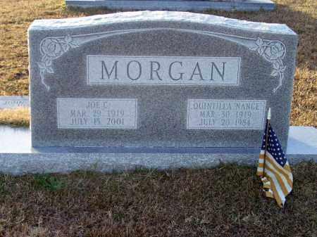 """MORGAN, QUINTILLA """"NANCE"""" - Ouachita County, Arkansas   QUINTILLA """"NANCE"""" MORGAN - Arkansas Gravestone Photos"""