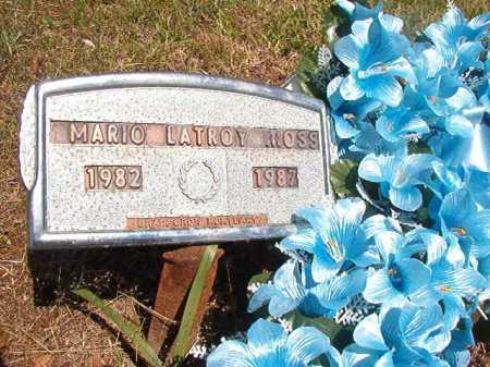 MOSS, MARIO LATROY - Ouachita County, Arkansas   MARIO LATROY MOSS - Arkansas Gravestone Photos