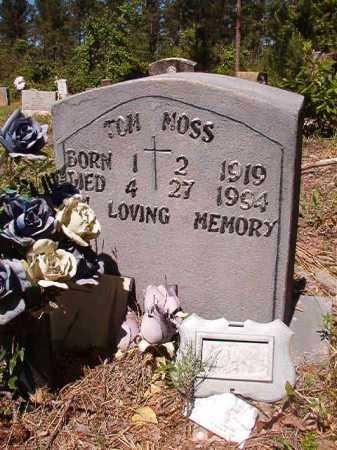 MOSS, TOM - Ouachita County, Arkansas | TOM MOSS - Arkansas Gravestone Photos