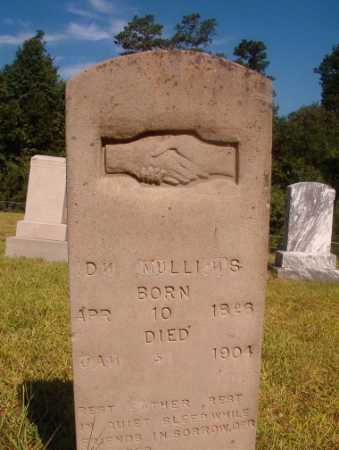 MULLINS, D N - Ouachita County, Arkansas   D N MULLINS - Arkansas Gravestone Photos