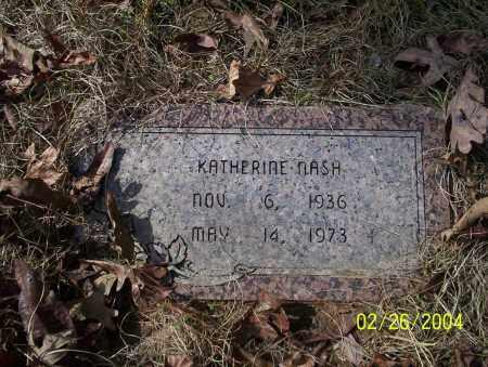NASH, KATHERINE - Ouachita County, Arkansas | KATHERINE NASH - Arkansas Gravestone Photos