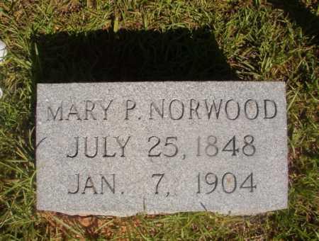 NORWOOD, MARY P - Ouachita County, Arkansas   MARY P NORWOOD - Arkansas Gravestone Photos