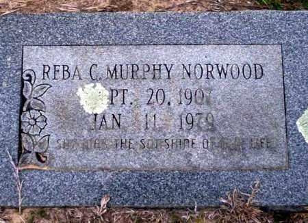 MURPHY NORWOOD, REBA C - Ouachita County, Arkansas | REBA C MURPHY NORWOOD - Arkansas Gravestone Photos