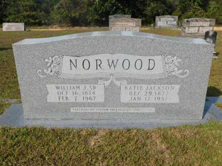 JACKSON NORWOOD, KATIE - Ouachita County, Arkansas | KATIE JACKSON NORWOOD - Arkansas Gravestone Photos