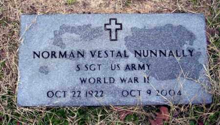 NUNNALLY  (VETERAN WWII), NORMAN VESTAL - Ouachita County, Arkansas | NORMAN VESTAL NUNNALLY  (VETERAN WWII) - Arkansas Gravestone Photos