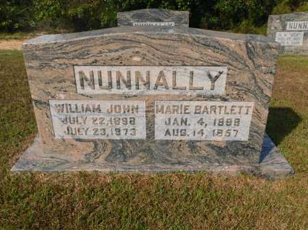 BARTLETT NUNNALLY, MARIE - Ouachita County, Arkansas | MARIE BARTLETT NUNNALLY - Arkansas Gravestone Photos
