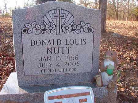 NUTT, DONALD LOUIS - Ouachita County, Arkansas   DONALD LOUIS NUTT - Arkansas Gravestone Photos
