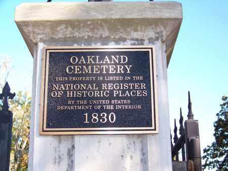 *OAKLAND, GATE - Ouachita County, Arkansas | GATE *OAKLAND - Arkansas Gravestone Photos