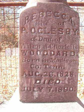OGLESBY, REBECCA - Ouachita County, Arkansas | REBECCA OGLESBY - Arkansas Gravestone Photos