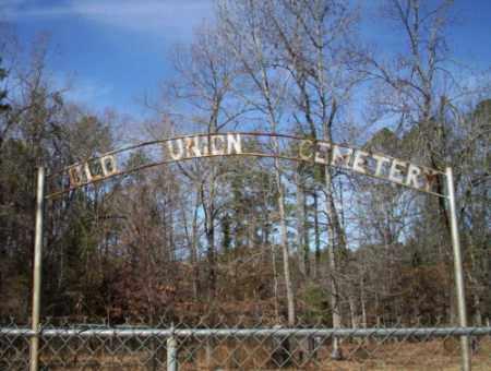 *OLD UNION, CEMETERY - Ouachita County, Arkansas | CEMETERY *OLD UNION - Arkansas Gravestone Photos