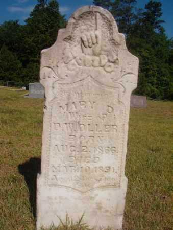 OLLER, MARY D - Ouachita County, Arkansas | MARY D OLLER - Arkansas Gravestone Photos