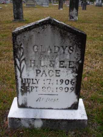 PACE, GLADYS - Ouachita County, Arkansas | GLADYS PACE - Arkansas Gravestone Photos