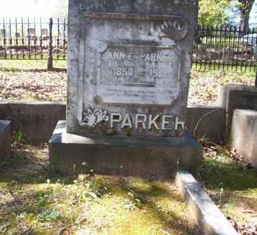 PARKER, ANN E - Ouachita County, Arkansas | ANN E PARKER - Arkansas Gravestone Photos