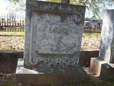 PARKER, JOHN NUNN - Ouachita County, Arkansas   JOHN NUNN PARKER - Arkansas Gravestone Photos