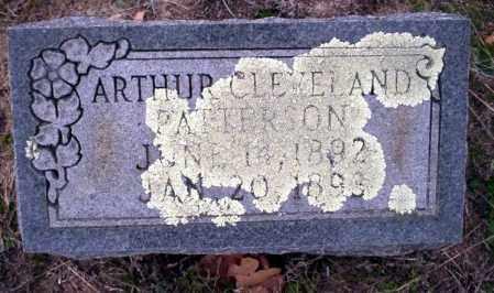 PATTERSON, ARTHUR CLEVELAND - Ouachita County, Arkansas | ARTHUR CLEVELAND PATTERSON - Arkansas Gravestone Photos