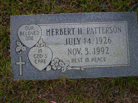 PATTERSON, HERBERT H - Ouachita County, Arkansas | HERBERT H PATTERSON - Arkansas Gravestone Photos