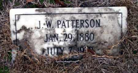 PATTERSON, J.W. - Ouachita County, Arkansas   J.W. PATTERSON - Arkansas Gravestone Photos