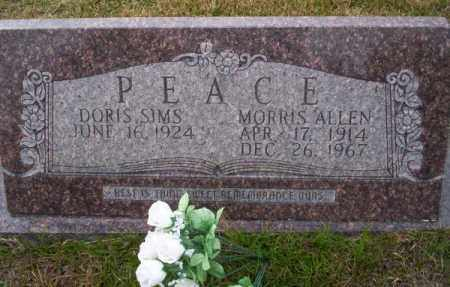 PEACE, MORRIS ALLEN - Ouachita County, Arkansas | MORRIS ALLEN PEACE - Arkansas Gravestone Photos
