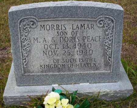 PEACE, MORRIS LAMAR - Ouachita County, Arkansas | MORRIS LAMAR PEACE - Arkansas Gravestone Photos