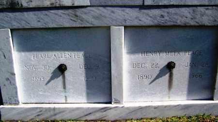 ALLEN PEACE, PEARL - Ouachita County, Arkansas | PEARL ALLEN PEACE - Arkansas Gravestone Photos