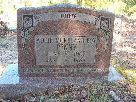 MORELAND BOX PENNY, ADDIE - Ouachita County, Arkansas | ADDIE MORELAND BOX PENNY - Arkansas Gravestone Photos