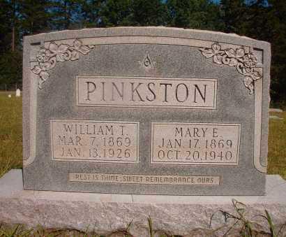 PINKSTON, WILLIAM T - Ouachita County, Arkansas | WILLIAM T PINKSTON - Arkansas Gravestone Photos
