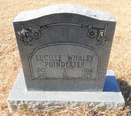 WHALEY POINDEXTER, LUCILLE - Ouachita County, Arkansas | LUCILLE WHALEY POINDEXTER - Arkansas Gravestone Photos