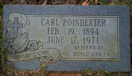 POINDEXTER (VETERAN WWI), CARL - Ouachita County, Arkansas | CARL POINDEXTER (VETERAN WWI) - Arkansas Gravestone Photos
