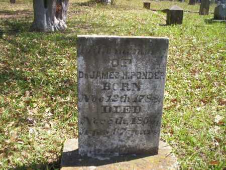 PONDER, DR. JAMES - Ouachita County, Arkansas   DR. JAMES PONDER - Arkansas Gravestone Photos