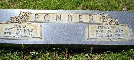 PONDER, JOE D - Ouachita County, Arkansas | JOE D PONDER - Arkansas Gravestone Photos