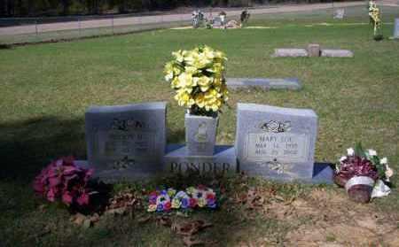 PONDER, MARY LOU - Ouachita County, Arkansas | MARY LOU PONDER - Arkansas Gravestone Photos