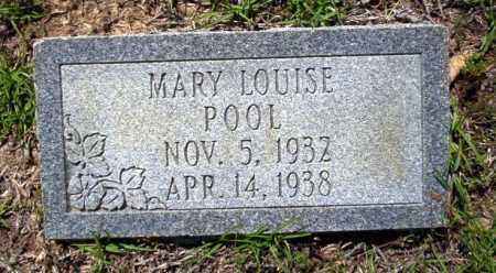 POOL, MARY LOUISE - Ouachita County, Arkansas | MARY LOUISE POOL - Arkansas Gravestone Photos