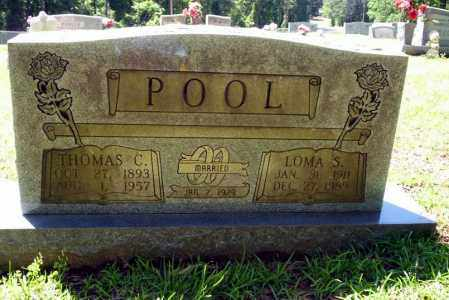 POOL, THOMAS C - Ouachita County, Arkansas | THOMAS C POOL - Arkansas Gravestone Photos
