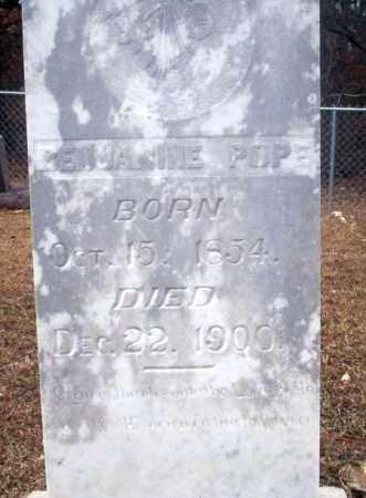 POPE, BENJAMINE - Ouachita County, Arkansas   BENJAMINE POPE - Arkansas Gravestone Photos