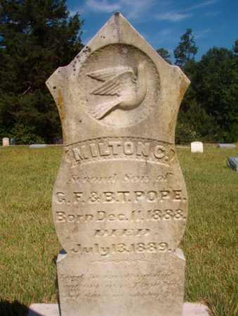 POPE, MILTON C - Ouachita County, Arkansas   MILTON C POPE - Arkansas Gravestone Photos