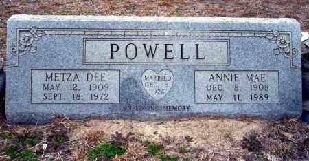 POWELL, METZA DEE - Ouachita County, Arkansas   METZA DEE POWELL - Arkansas Gravestone Photos