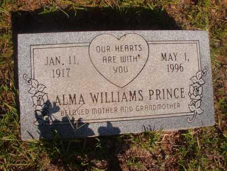 WILLIAMS PRINCE, ALMA - Ouachita County, Arkansas   ALMA WILLIAMS PRINCE - Arkansas Gravestone Photos