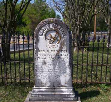 PROCTOR, MARY - Ouachita County, Arkansas | MARY PROCTOR - Arkansas Gravestone Photos