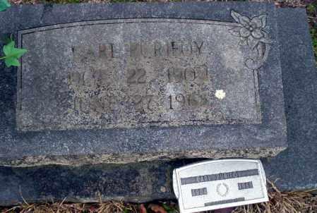 PURIFOY, CARL - Ouachita County, Arkansas   CARL PURIFOY - Arkansas Gravestone Photos