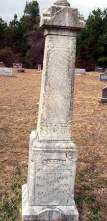 PURIFOY, LIZZIE - Ouachita County, Arkansas | LIZZIE PURIFOY - Arkansas Gravestone Photos