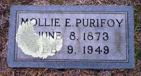 PURIFOY, MOLLIE E - Ouachita County, Arkansas | MOLLIE E PURIFOY - Arkansas Gravestone Photos
