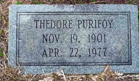 PURIFOY, THEDORE - Ouachita County, Arkansas | THEDORE PURIFOY - Arkansas Gravestone Photos