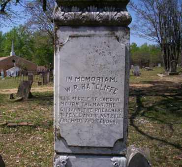 RATCLIFFE, W.P. - Ouachita County, Arkansas | W.P. RATCLIFFE - Arkansas Gravestone Photos