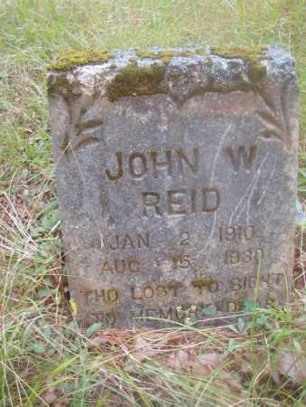REID, JOHN W - Ouachita County, Arkansas   JOHN W REID - Arkansas Gravestone Photos