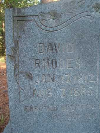 RHODES, DAVID - Ouachita County, Arkansas | DAVID RHODES - Arkansas Gravestone Photos